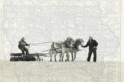 Plowing through History by Leslie Heemsbergen