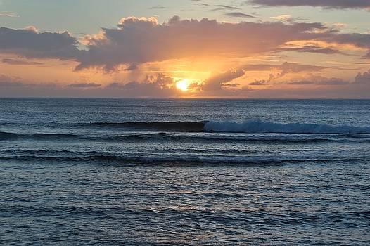 Hagatna Bay Sunset by Byron Fair