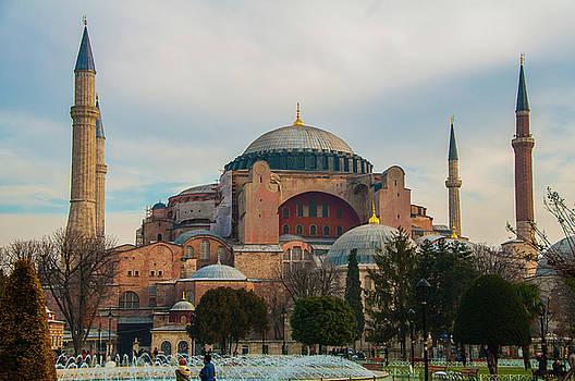 Hagia Sofia by Subroto Mukherjee
