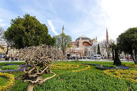 Hagia Sophia, Istanbul by Freepassenger By Ozzy CG