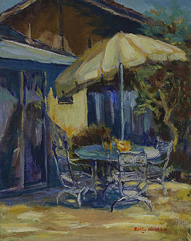 Hahn's Back Yard by Dolly Sellars