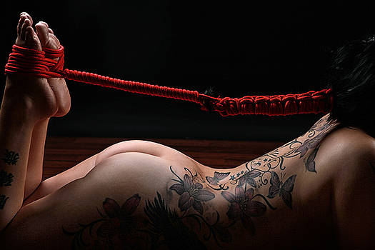 Rod Meier - Hair Bondage - Hair to feet - Fine Art of Bondage