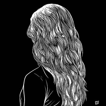 Hair in Black by Giuseppe Cristiano