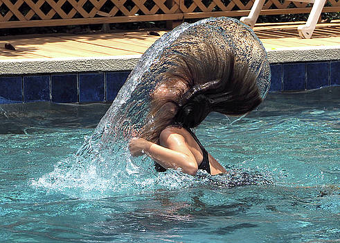Hair Toss by Farol Tomson