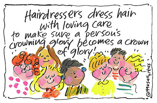 Hairdresser by Sally Huss