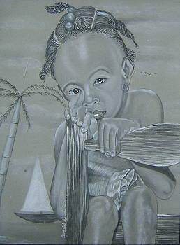Haitian girl by Neg Ayiti Neg Ayiti