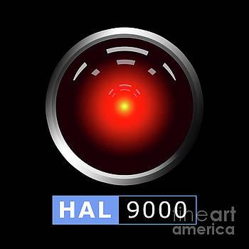 Hal 9000 by Gaspar Avila