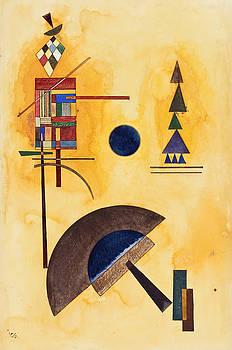 Halbkreis  by Vassily Kandinsky