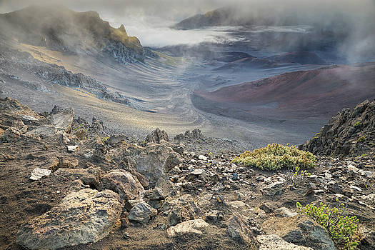Haleakala at Sunrise by Eric Bjerke Sr