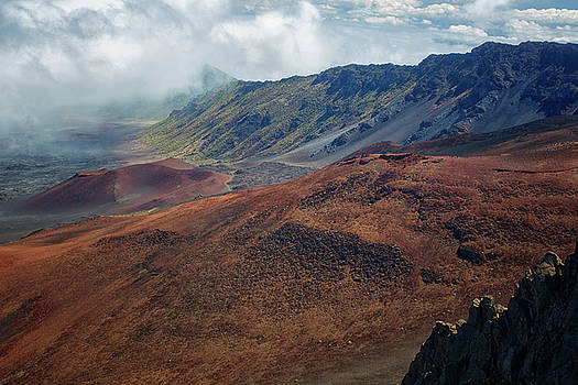 Haleakala Crater 2 by Randy Hall
