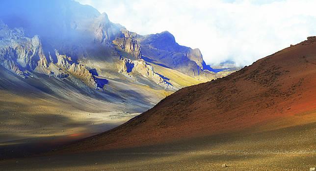 Haleakala Crater by Claudio Bacinello