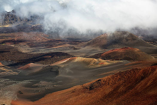 Haleakala Crater by Randy Hall