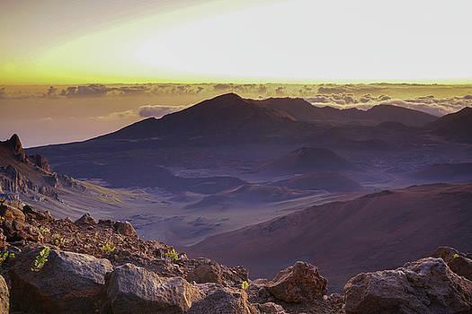 Puget Exposure - Haleakala Crater Rim Volcano Sunrise