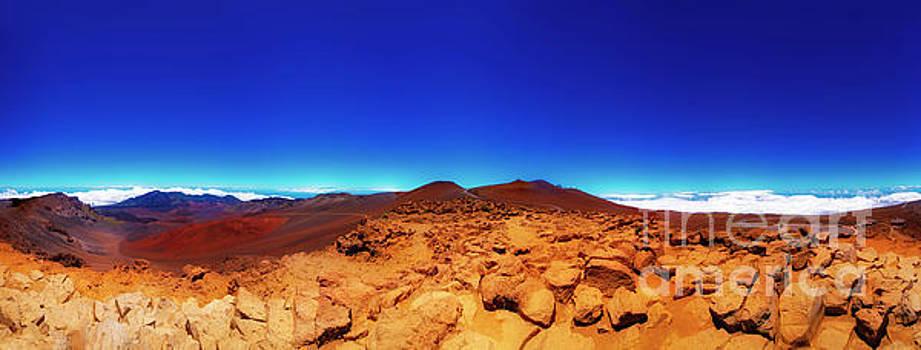 Haleakala  East Maui Volcano by Tom Jelen