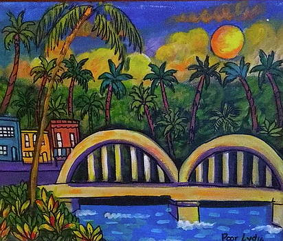 Haleiwa Bridge by Lydia Matias
