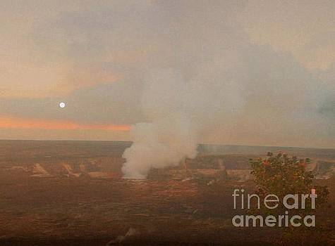 Halema'uma'u Crater, Kilauea by Uldra Johnson
