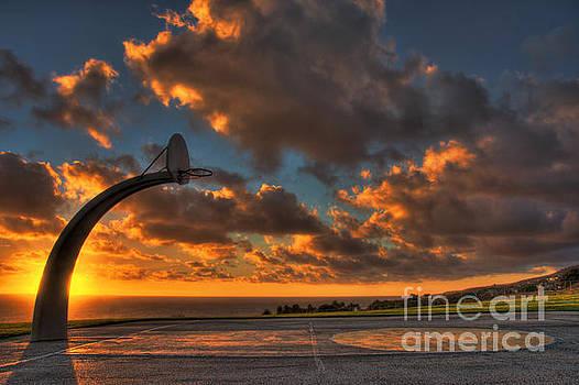 Half Court Sunset by Nick Carlson