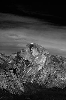 Half Dome from Columbia Rock by Raymond Salani III