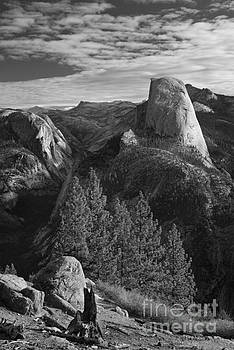 Half Dome from Glacier Point by Justin Foulkes