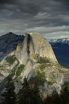 Half Dome from Pohono Trail 2 by Raymond Salani III