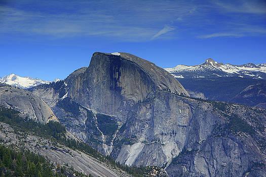 Half Dome from Yosemite Point by Raymond Salani III
