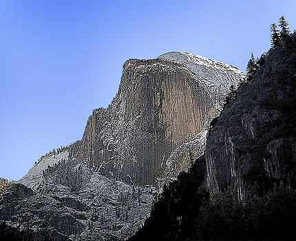 Half Dome by Larry Darnell