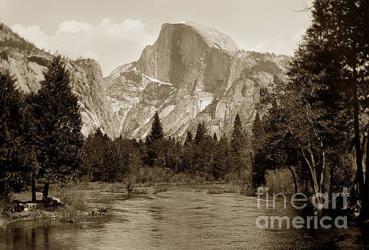 California Views Mr Pat Hathaway Archives - Half Dome Merced River Yosemite Valley Circa 1910