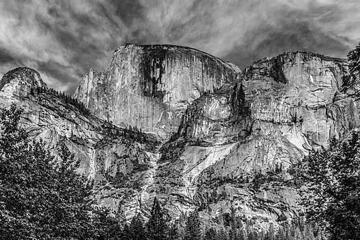 Half Dome North Face by Tim Sullivan