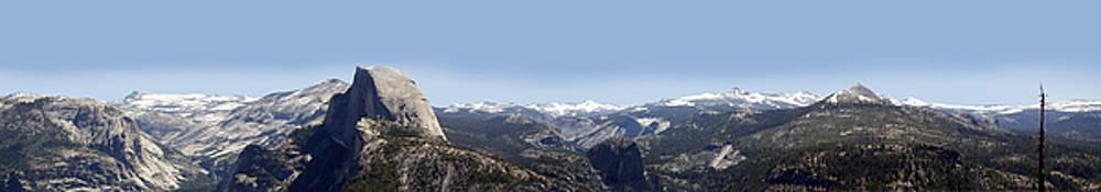 Half Dome Panorama by Bransen Devey