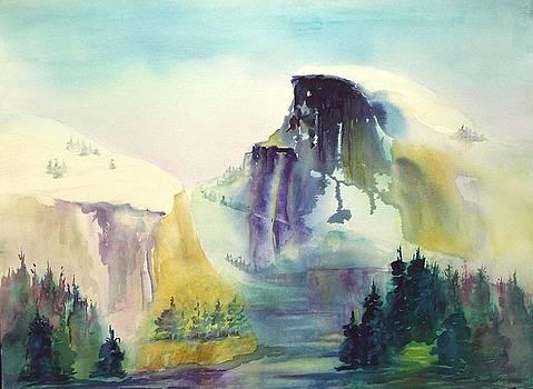Half Dome Yosemite by Maryann Schigur
