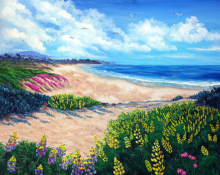 Laura Iverson - Half Moon Bay in Bloom