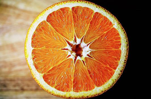 Half Of Orange by Hyuntae Kim