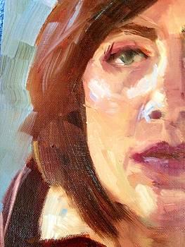 Half Selfie by Cynthia Mozingo