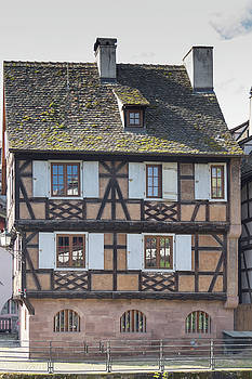 Half Timber House Strasbourg by Teresa Mucha