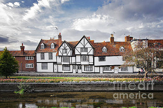 Sophie McAulay - Half timbered house in Canterbury