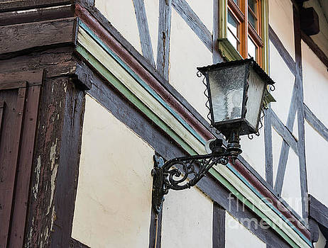 Compuinfoto - half-timbered house with light