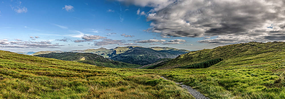 Half way up The Merrick by David Attenborough