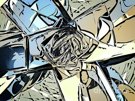 Halftones Abstract by Phil Perkins