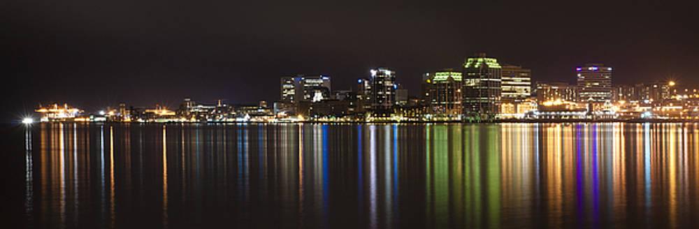 Halifax lights by Nancy Killam