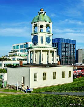 Halifax Town Clock 2017 by Ken Morris