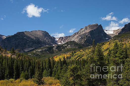 Hallett Peak by Timothy Johnson