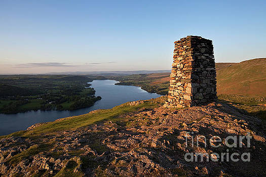 Hallin Fell summit sunset by Gavin Dronfield