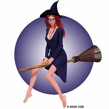 Halloween 2010 Cute Witch by John Hoagland