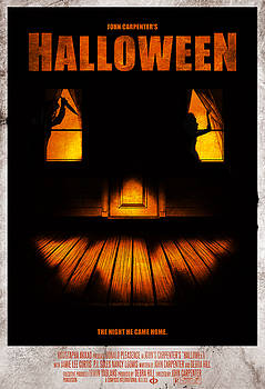 Halloween Alternative Movie Poster by Christopher Ables