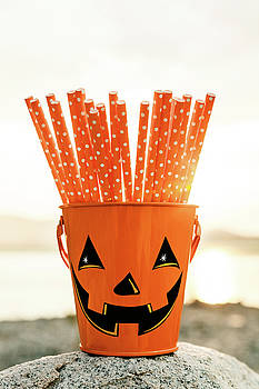 Halloween Bucket  by Evgeniya Lystsova