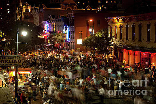 Herronstock Prints - Halloween Costume Party on 6th Street is a favorite Austin Tradi