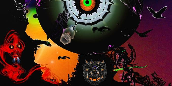 Halloween Event by Romuald  Henry Wasielewski