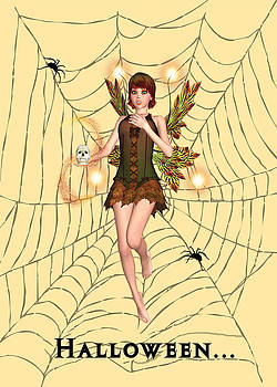 Halloween Fairy by Rosalie Scanlon