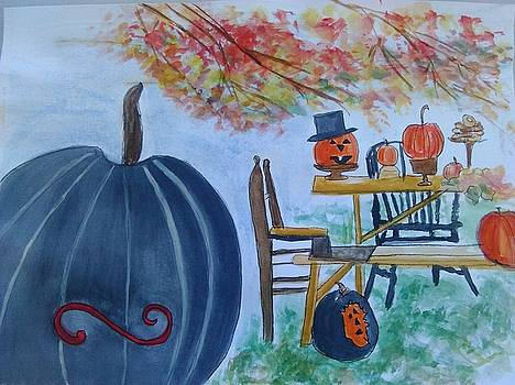 Halloween feast by Lisa LaMonica
