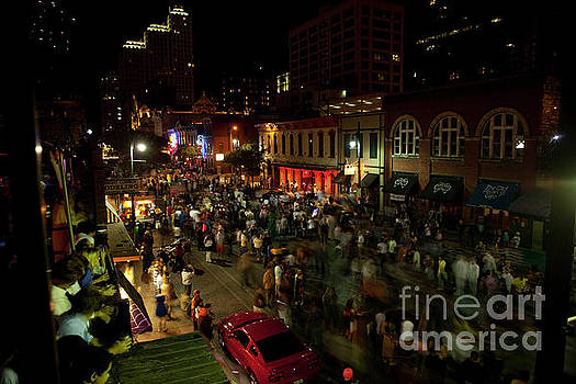 Herronstock Prints - Halloween is a sacred tradition on 6th Street in downtown Austin
